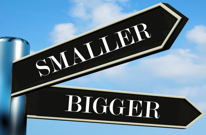 bigger-smaller