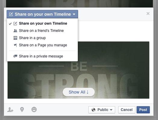 Facebook-Sharing-Own-Timeline