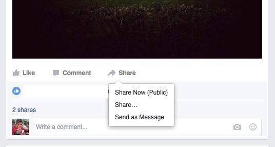 Facebook-Sharing-Post