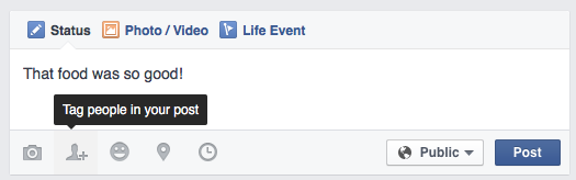Facebook-Tagging-with-Post