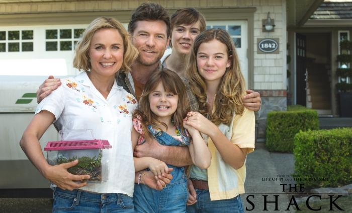 Resultado de imagem para the shack movie+family