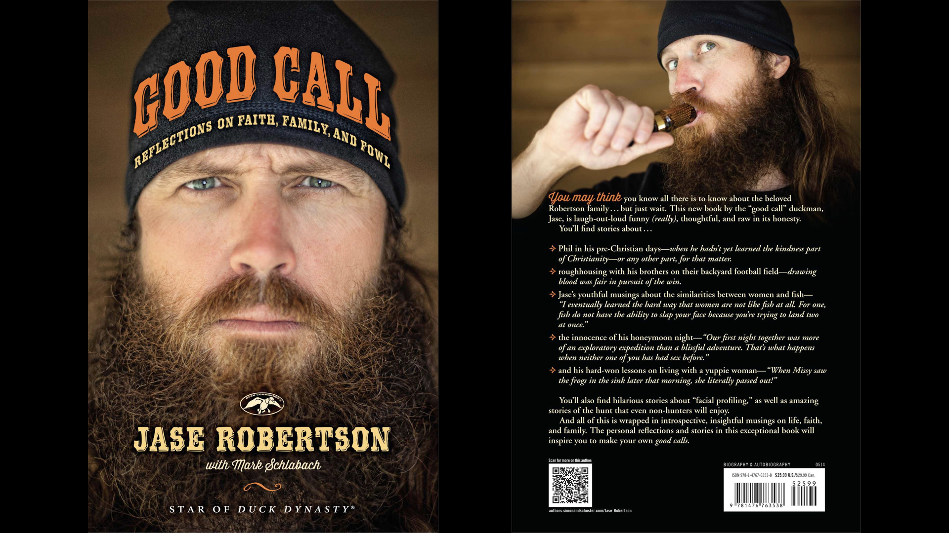 Book Review Good Call By Jase Robertson Steve Cullum
